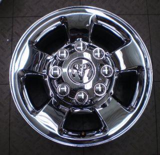2187 Dodge RAM 2500 3500 17 Factory Chrome Wheels Rims 4
