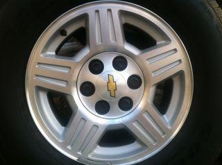 17 inch Chevrolet GMC Rims Tires Yukon Tahoe Denali Silverado Sierra