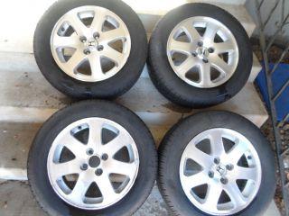 Honda Civic SI Rims Wheels EM1 DC2 DC4 B18C1 Enkei 15 Mesh 99 00 B16A2
