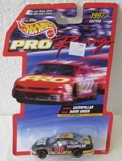 1997 Hot Wheels Caterpillar David Green #96 Chevrolet Monte Carlo