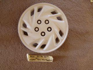 95 96 Neon 92 95 Spirit 92 94 Shadow 92 93 Daytona Wheel Cover Hubcap