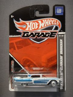 HOT WHEELS GARAGE REAL RIDERS GM 57 CADILLAC ELDORADO BROUGHAM #22