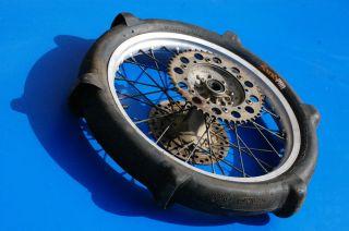 94 97 YZ125 YZ WR 125 250 rear wheel tire rim hub bearing spokes