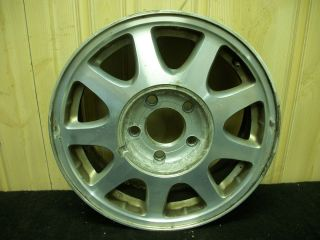 Aluminum Wheel Rim 9 Slot Argent PF7 Chevy Malibu 98 99 Factory OEM C+