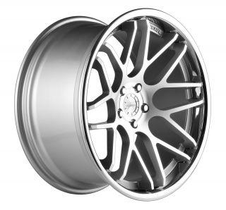 19 Vertini Magic Silver Rims Wheels Mercedes C250 C300 C350 07 2012