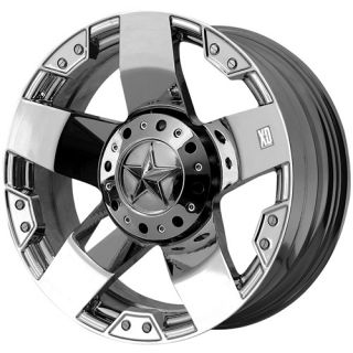 Rockstar 8x170 F250 F350 99 04 Chrome Wheels Rims Free Lugs