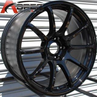 18x9 Rota G Force Wheels 5x100 Rim 35mm Stretch L K