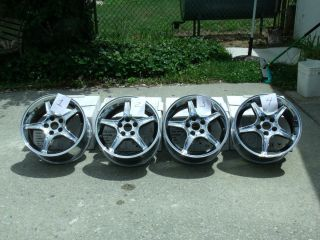 Ford Mustang GT Cobra 94 04 Cobra R Chrome Wheel Rims 17x9