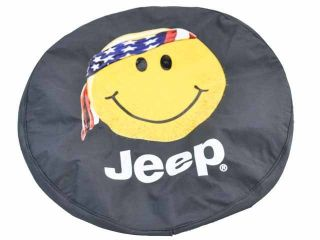 97 12 Jeep Wrangler Smiley Face Spare Tire Cover for 16 Wheels