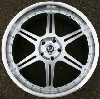 Sport ST2 20 H Silver Rims Wheels Eclipse 96 Up 20 x 8 5 5H 35