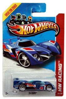 2013 Hot Wheels 104 HW Racing HW Race Team 24 Ours