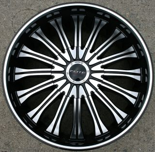 W116 20 Black Rims Wheels Honda Odyssey 98 04 20 x 8 5 5H 35