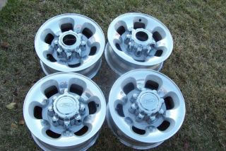 99 04 16 Ford F250 F350 Excursion 16 Wheels Factory Rims 8 Lug Alloy