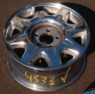 16 97 99 Cadillac Eldorado Alloy Wheel Rim Chrome