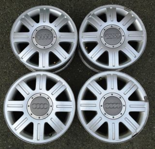 98 01 15 AUDI A4 OEM FACTORY STOCK WHEELS RIMS 5X112 a6 avant QUATTRO