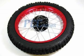 14 Front Rim Wheel Honda XR50 CRF50 110 125 Pit Bike