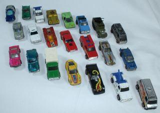 Lot Of 22 Mixed Vintage Hot Wheels Cars 1970s Redline Die Cast NO