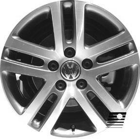 Volkswagen Jetta 2005 2007 16 inch Used Wheel Rim