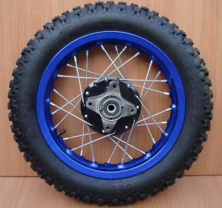 12 Rear Wheel Tire Rim Assy Wheels 110cc 125cc Pit Dirt Bike 3 00 12