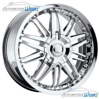 Vision Avenger 5x110 5x114 3 5x4 5 38mm Chrome Wheels Rims Inch 17