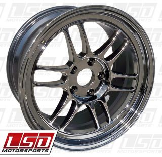 17 Enkei RPF1 SBC Rims Wheels 17x8 45 5x114 3 Mazda3 SPEED3 SPEED6 MX5
