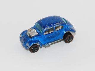 Hot Wheels Redline No Sunroof Blue Custom Volkswagen VW Bug NSR
