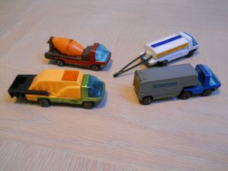 REDLINE LOT OF 4 HW HEAVYWEIGHT TRUCK HOTWHEEL RL CAR RACING FUEL