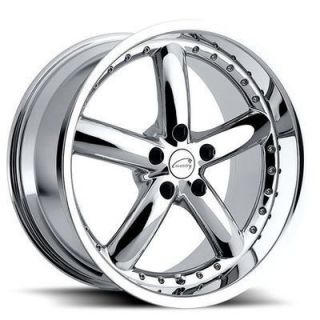 Hornet 18x9 5 Chrome Alloy Wheels Rims 5x108 25 s Type XF XJ XK
