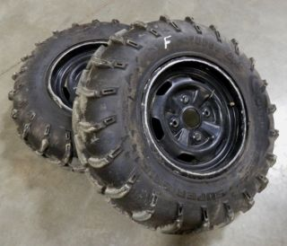 Suzuki KingQuad 700 Front Wheels Tires OEM Brute Force Grizzly 750 450