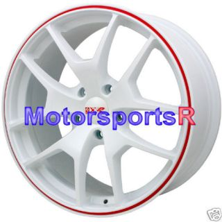18 XXR 518 White Wheels Rims 08 Subaru Legacy Forester