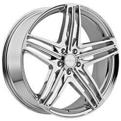 22 inch Menzari Z12 Chrome Wheels Rims 5x115 Cadillac cts Impala