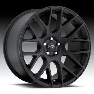 19 inch Niche Circuit Black Wheels Rims 5x120 35 TL MDX cts LS460 GTO