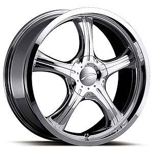 Attitude 16x7 5x114 3 5x108 Chrome wheels Honda Acura Ford wheels