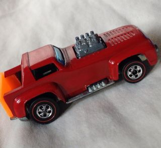 1970 hot wheels original REDLINE SHORT ORDER BEAUTIFUL ENAMEL RED