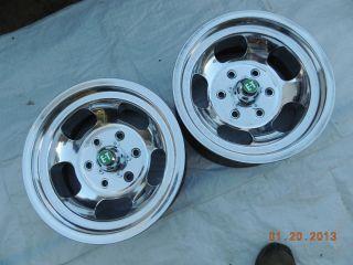 15x7 6 Lug Slot Mag Wheels Chevy Truck GMC Van Toyota Mags