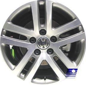 Refinished Volkswagen Jetta 2005 2007 16 inch Wheel R