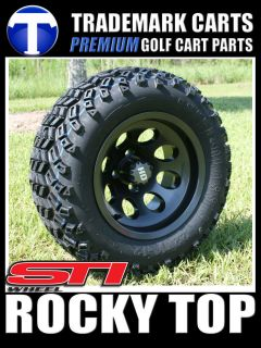 New Club Car 6 A Arm Lift Wheel and Tire Golf Cart Package