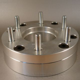 Billet Wheel Adapters 5x5 5 to 6x135 2 Thick Spacers 5 Lug to 6 Lug