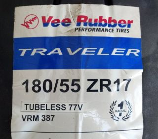 180 55 17 New Vee VRM 387 Traveler Motorcycle Tire 180x55 17