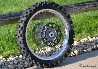 Yamaha YZ250F YZ450F YZ125 YZ250 Back Rear Wheel Tire Rim Hub