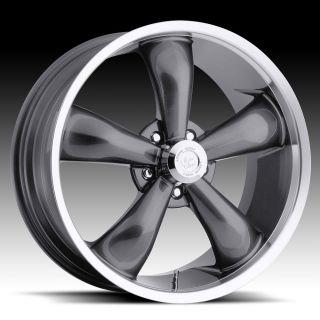 17x7 Vision 17 Wheels Rims Chevy Camaro Chevelle Nova Impala Belair