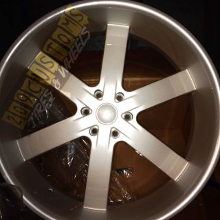 28 inch Rims Wheels Tires U2W55 6x139 7 Pearl White Cadillac Escalade