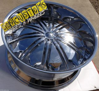 22 inch Rims 22x9 5 Wheels Tires TW706 5x115 5x135 13 Offset Chrysler