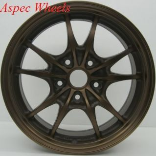 17 Rota Circuit 10 Wheels 5x114 3 Rim Eclipse RSX Mazda