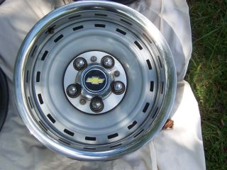 Classic 5 Lug Chevy Rally Wheels