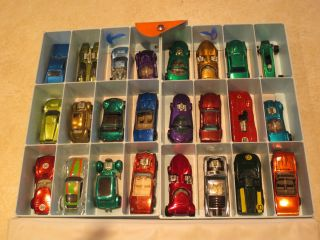 Hot Wheels Redline 24 Car Case and 24 Car Lot Must See