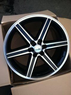 22 IROC Black Rims Tires 6x139 Chevy Tahoe GMC Titan Armada Silverado