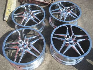 18 Dub Dirty Dog Chrome Wheels 5x114 3 5x4 5 Lexani asanti MRR MHT