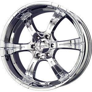 New 20x8 5 6x139 7 Liquid Metal Chrome Wheels Rims