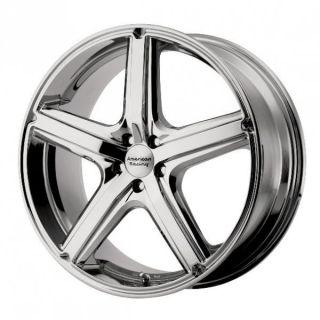 16 inch Maverick Chrome Wheels Rims 5x120 Pontiac G8 GTO Land Rover